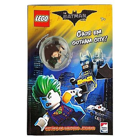 Livro Gibi LEGO Batman Movie: Caos em Gotham City DC Super Heroes