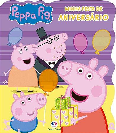 Livro Peppa Pig Minha festa de aniversário