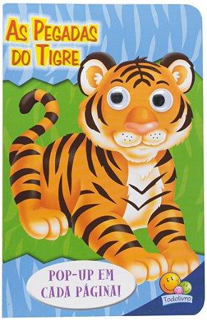 Livro Pop-up As Pegadas do Tigre - Olhinhos Espertos!