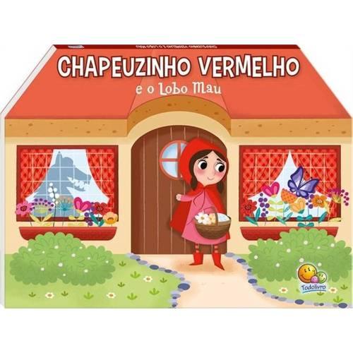 Livro Pop-up Chapeuzinho Vermelho e o Lobo Mau - Contos Clássicos