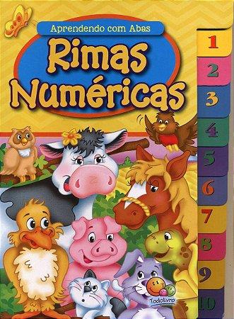 Livro Rimas Numéricas - Aprendendo com Abas