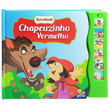Livro Sonoro Chapeuzinho Vermelho - Ler e Ouvir