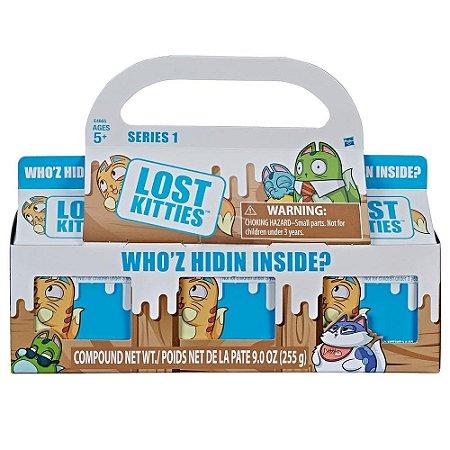 Lost Kitties 3 Caixas Surpresa - Hasbro