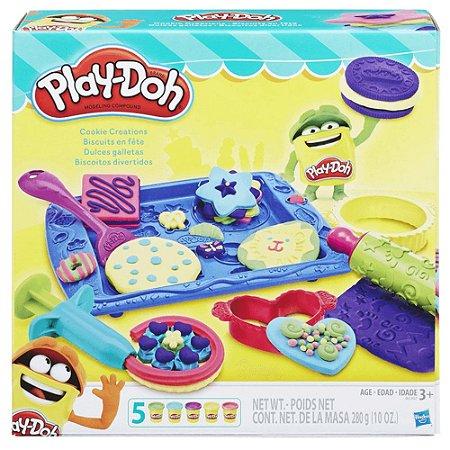 Massinha Play-Doh Biscoitos Divertidos - Hasbro