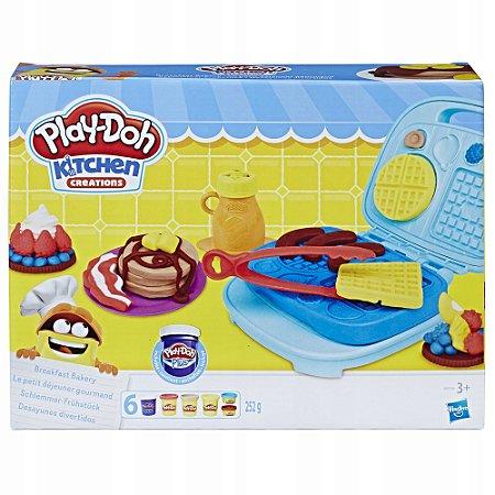Massinha Play-Doh Café da Manhã Divertido - Hasbro