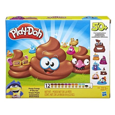Massinha Play-Doh Caquinhas Divertidas - Hasbro