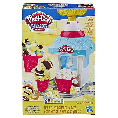 Massinha Play-Doh Festa da Pipoca - Hasbro