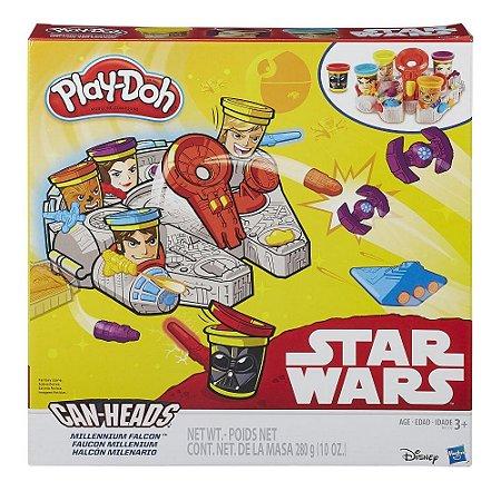Massinha Play-Doh Star Wars Millenium Falcon - Hasbro