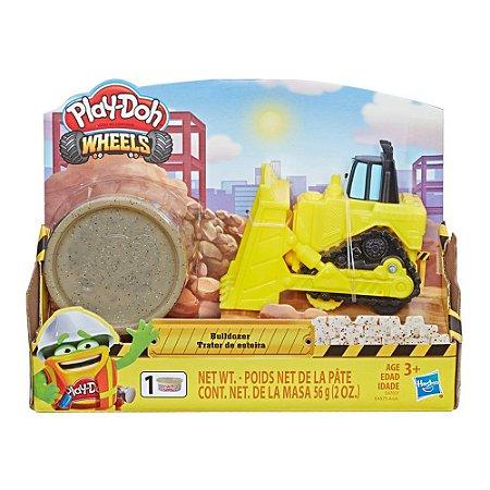Massinha Play-Doh Wheels Veículo Trator de Esteira - Hasbro
