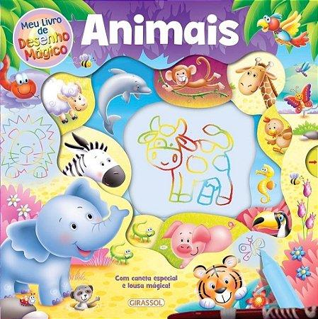 Meu Livro de Desenho Mágico - Animais