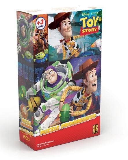 Quebra-Cabeça - Toy Story Progressivo  - Grow
