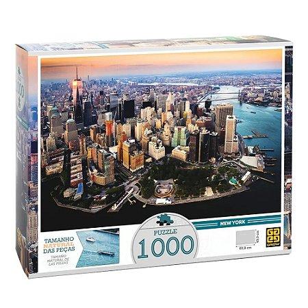 Quebra-Cabeça Puzzle Grow 1000 peças New York