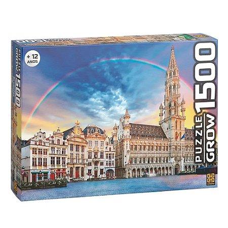 Quebra-Cabeça Puzzle Grow 1500 peças Bruxelas
