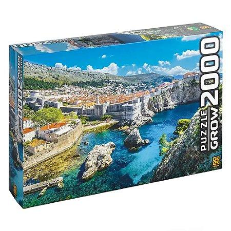 Quebra-Cabeça Puzzle Grow 2000 peças Dubrovnik