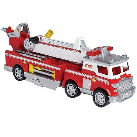 Veículo e Mini Figura Caminhão de Bombeiro - Resgate Extremo - Patrulha Canina - Sunny