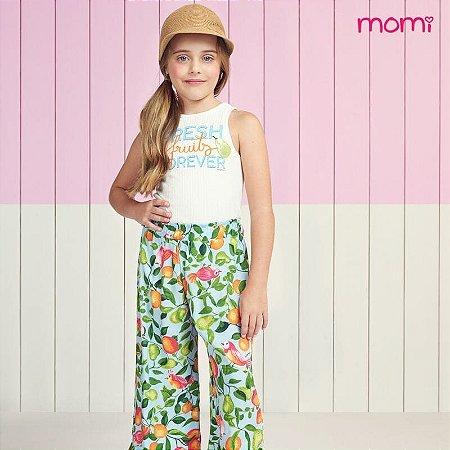 Conjunto Regata e Calça Pantacourt - Momi