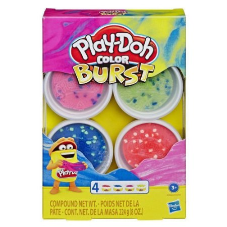 Massinha Play-Doh Kit Color Burst Hasbro - E6966