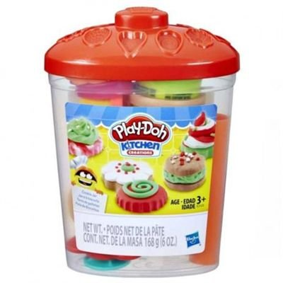 Massinha Play-Doh Kit Pote de Doces Hasbro - E2125