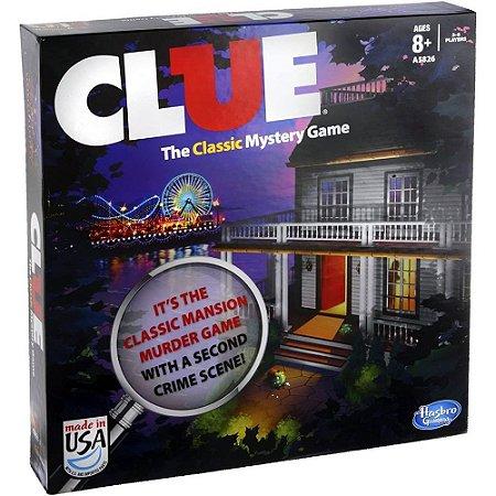 Jogo Clue O Clássico Jogo dos Investigadores Hasbro - A5826