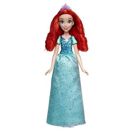 Boneca Princesas Royal Shimmer Ariel Hasbro - E4156