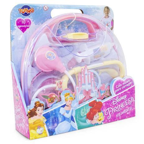 Kit Médico com Maleta Disney Princesas - Toyng