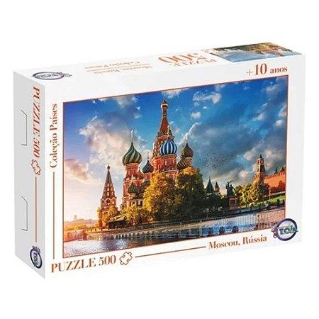 Quebra-Cabeça Puzzle Toia 500 peças Moscou Rússia