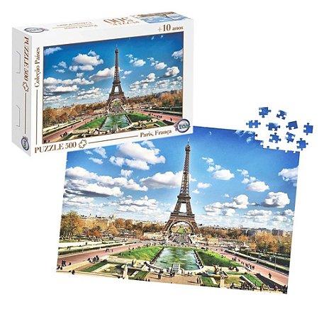 Quebra-Cabeça Puzzle Toia 500 peças Paris França