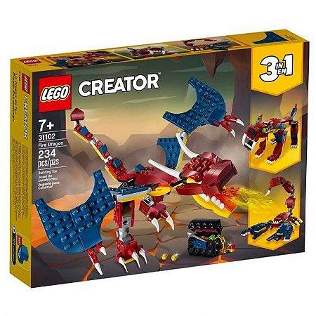 LEGO Creator Dragão do Fogo