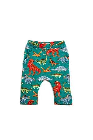 Calça Infantil Bento Verde Dino - 2530