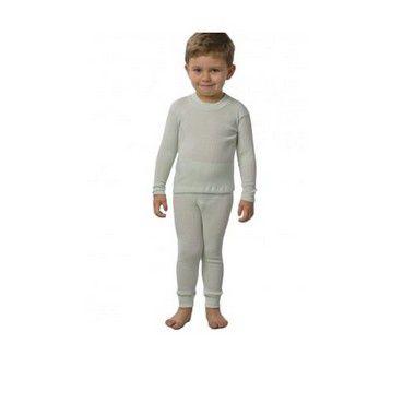 Conjunto Infantil Lion Branco - 5035