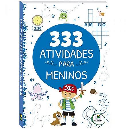 Livro 333 Atividades ... Meninos