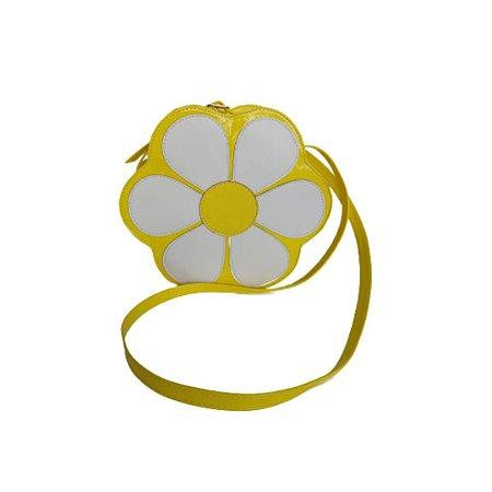 Bolsa Transversal Menina Rio Flor Amarela