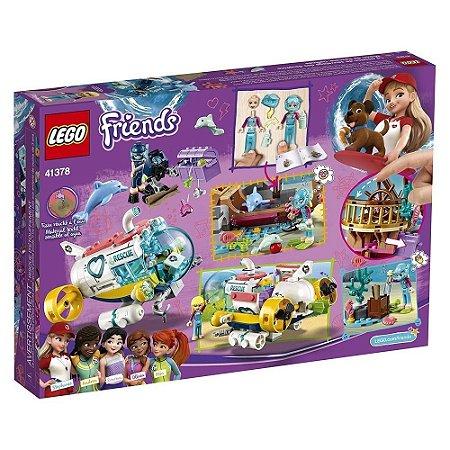 LEGO Friends Missão de Resgate de Golfinhos