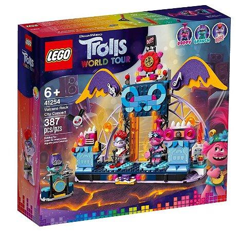 LEGO Trolls World Tour Concerto Vulcão Rock City