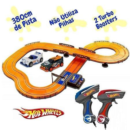 Pista Hot Wheels Slot Car Track Set 3,8m - Multikids BR082
