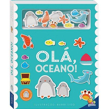 Livro Interativos Amigos de Feltro: Olá, Oceano!