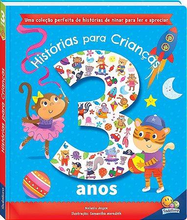 Livro Histórias Para Crianças... 3 anos