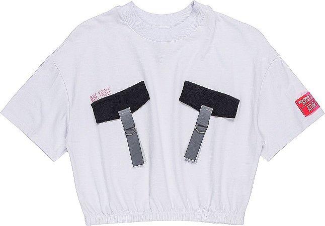 Camiseta Infantil Authoria com bolso 7151