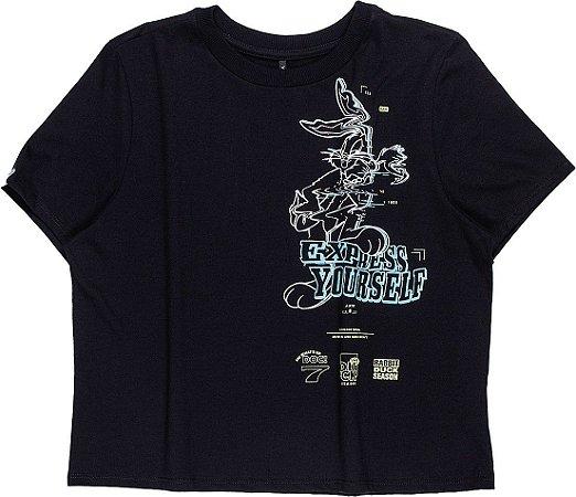 Camiseta Infantil Authoria Looney Tunes 7256
