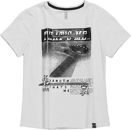 Camiseta Infantil I am Auhtoria com estampa 2066