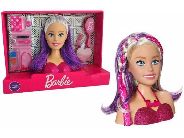 Boneca Barbie Maquiagem Styling Faces
