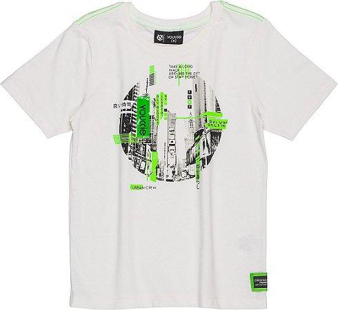 Camiseta Youccie Urban Off White