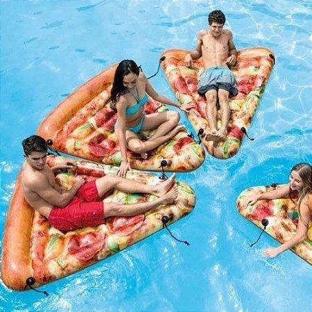 Colchão Inflável para Piscina Fatia de Pizza Intex - 58752
