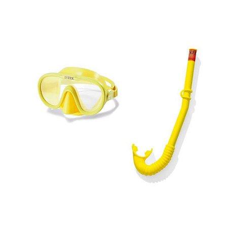 Kit Snorkel Infantil Mergulho Adventurer  Intex - 55642