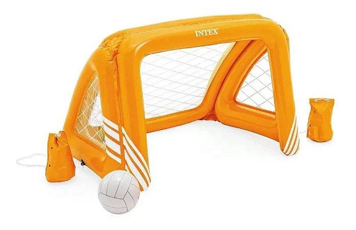 Jogo Futebol com Trave Inflável Polo Aquático Intex - 58507NP