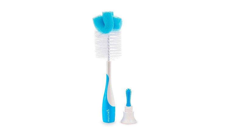 Escova para Mamadeira Munchkin Azul