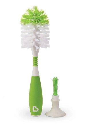 Escova para Mamadeira Munchkin Verde
