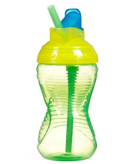Copo Infantil Com Canudo Munchkin Verde