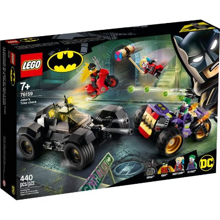 LEGO Batman Perseguição de Triciclo do Coringa