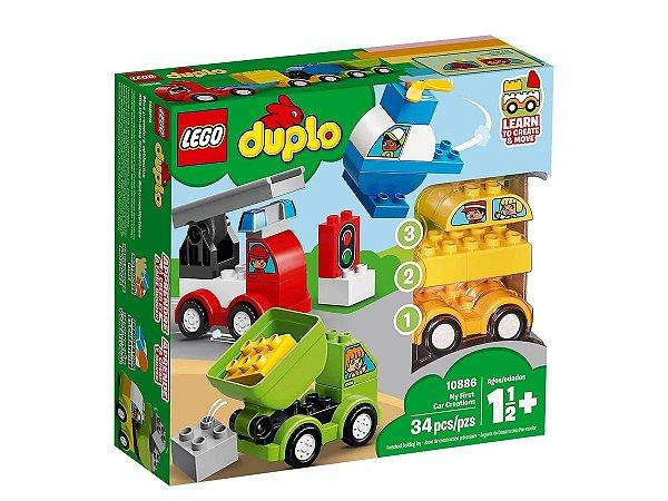 LEGO DUPLO Minhas Primeiras Criações de Carros